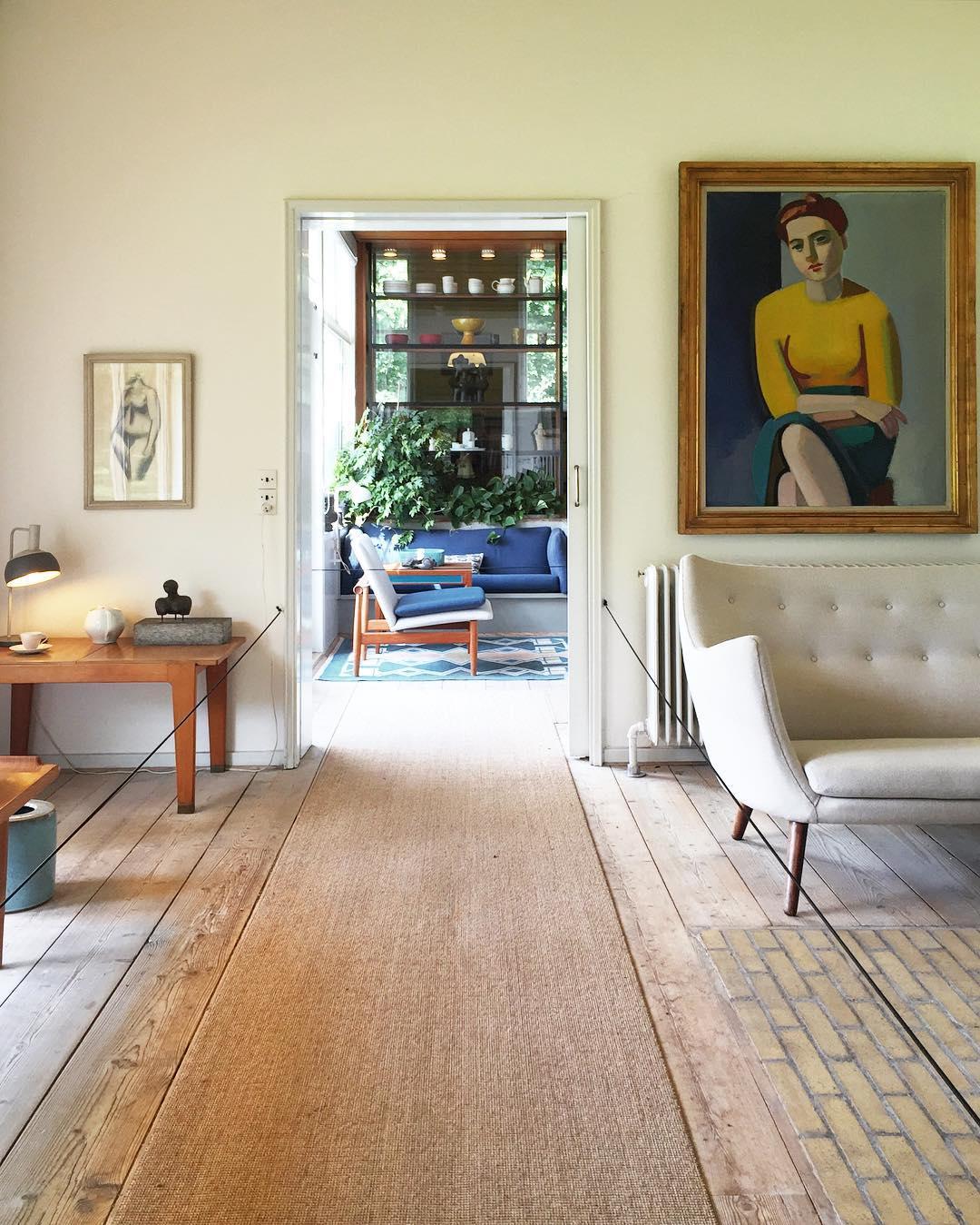 Finn Juhl's House, Charlottenlund, Denmark