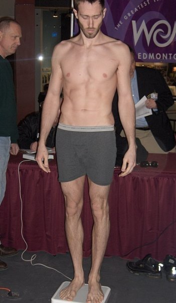 Making weight wasn't always easy for me, being very tall for welterweight. I always made weight, but was never happy about it.
