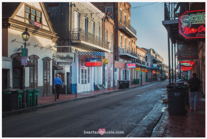 Bourbon Street,New Orleans (the morning after!)