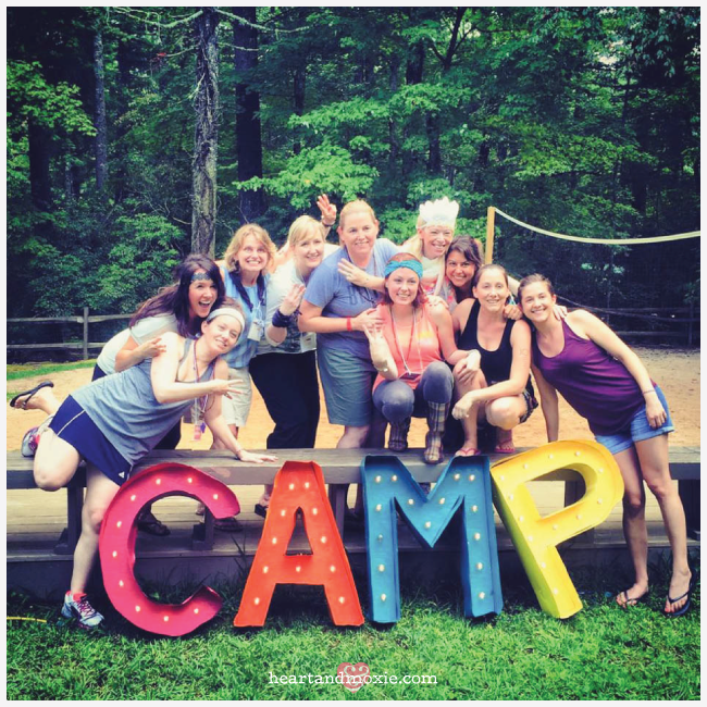 My amazing Summer Camp Sisters! I can't help but smile when I look at their lovely faces!