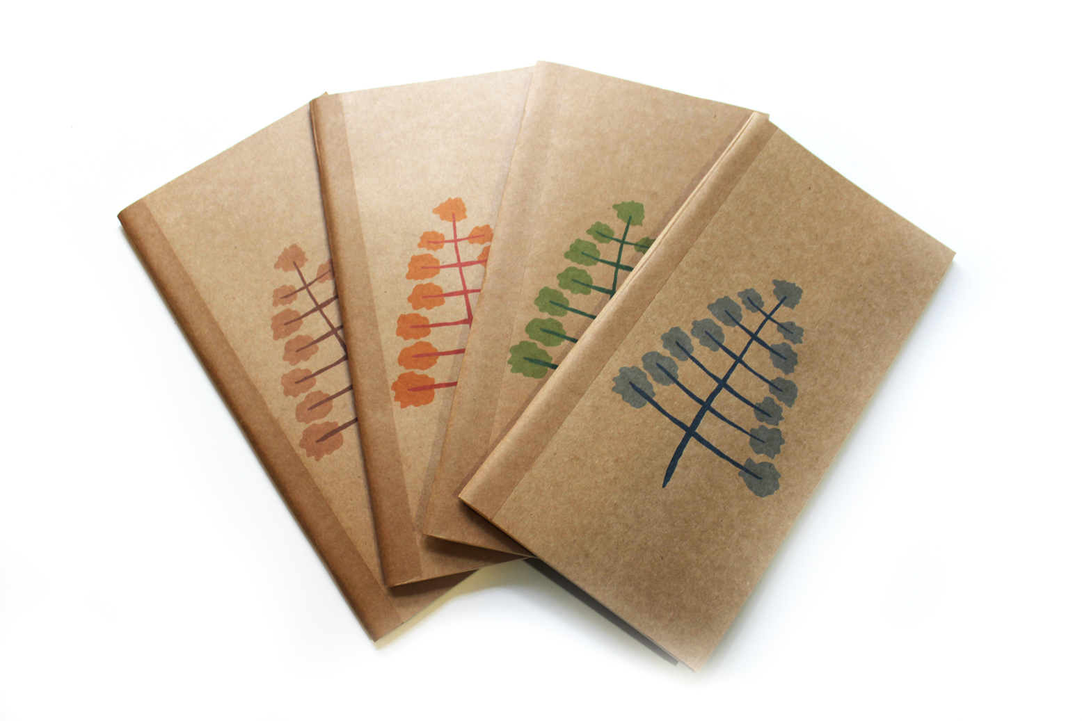 Some of Sil's hand madeBlank Journals