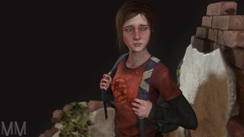 Ellie The Last Of Us Fan Art Marie M Pepin S Portfolio