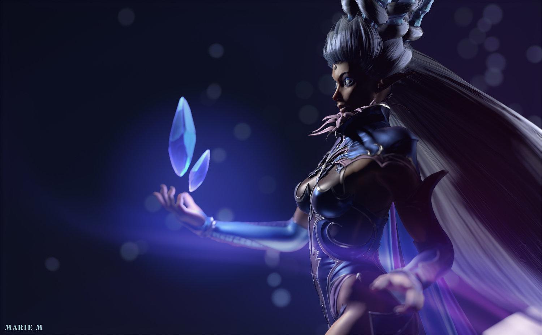 Shiva Final Fantasy Xiv Fan Art Marie M Pepin S Portfolio