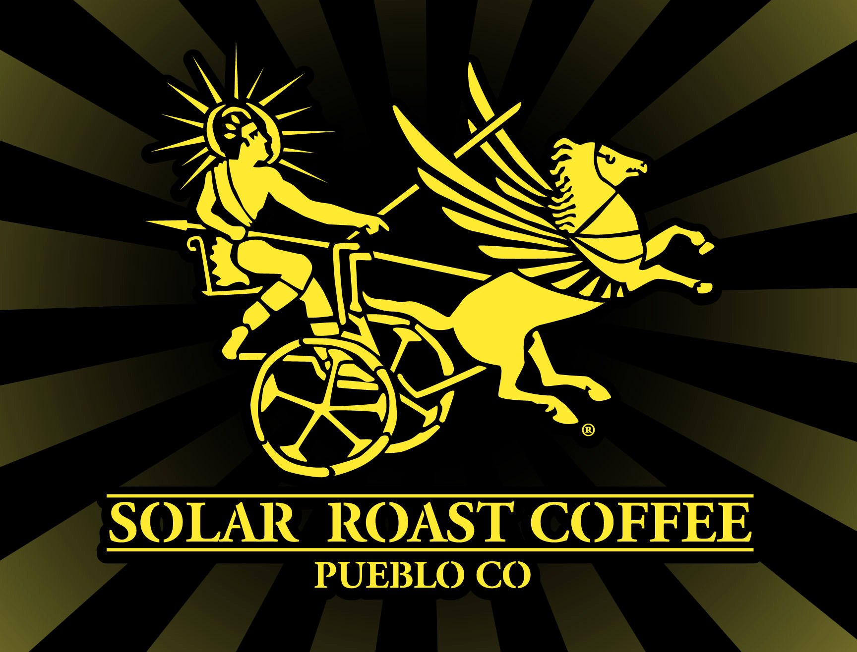 Solar Roast Coffee - Buy two pounds of coffee get a free drink of any sizeBuy a pound of coffee, get ½ off a Solar Roast t-shirtA name can say it all. All organic coffee roasted using solar power. Solar Roast Coffee is roasted low and slow with the world's best beans to create a cup that's never bitter. Born and bred in Oregon, Solar Roast went from roasting a pound of coffee at a time to distributing their coffee worldwide. It's always organic, and every bean is always roasted using solar power. You can visit and enjoy Solar Roast in their historic Main street cafe or in their second location on Northern ave in Pueblo. Coming soon: a new location in downtown Colorado Springs! Get caffeinated!Website: solarroast.comPhone (Main street): 719-544-2008Phone (Northern ave): 719-564-5770