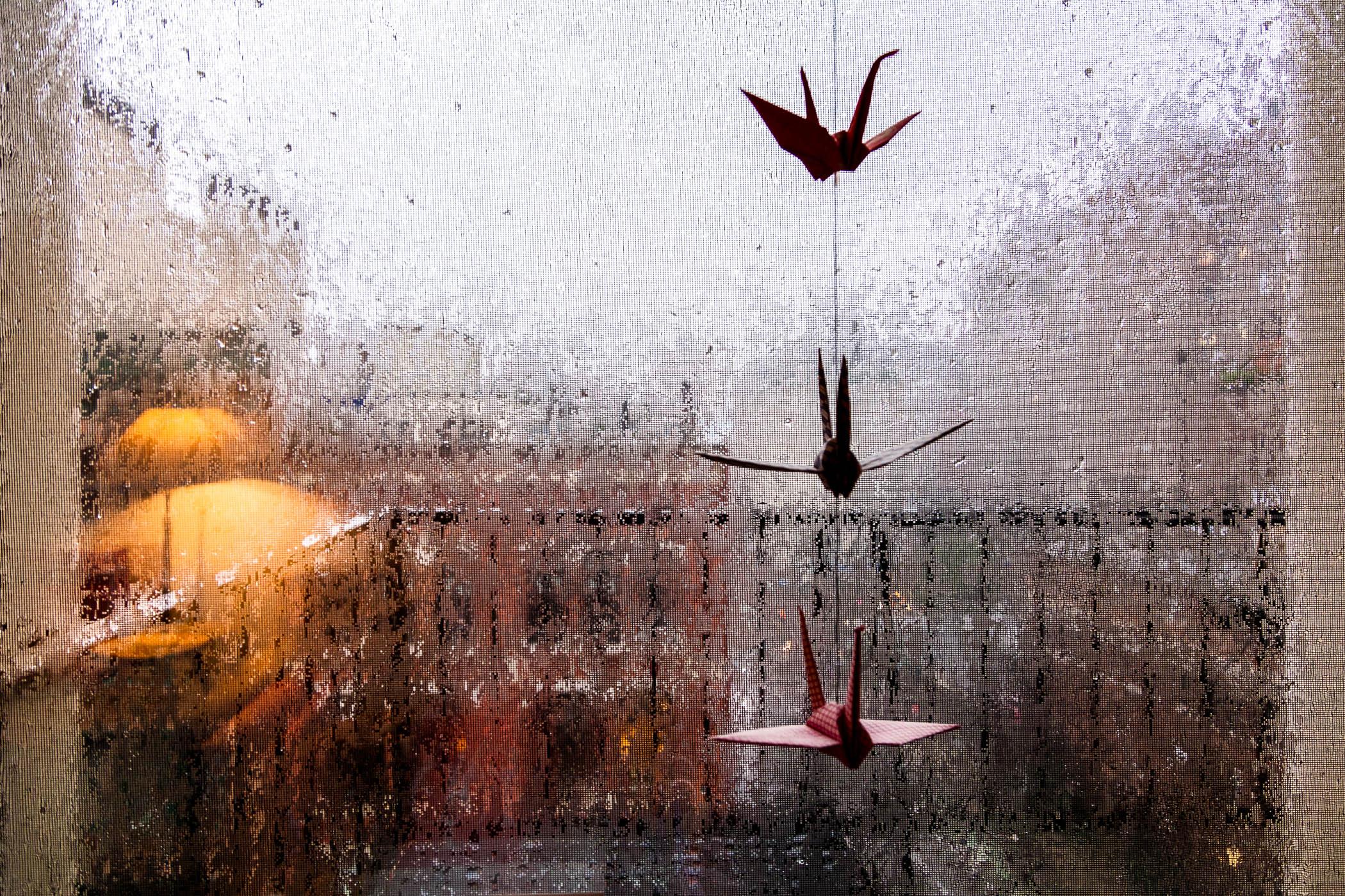 Rainy Day in Noho