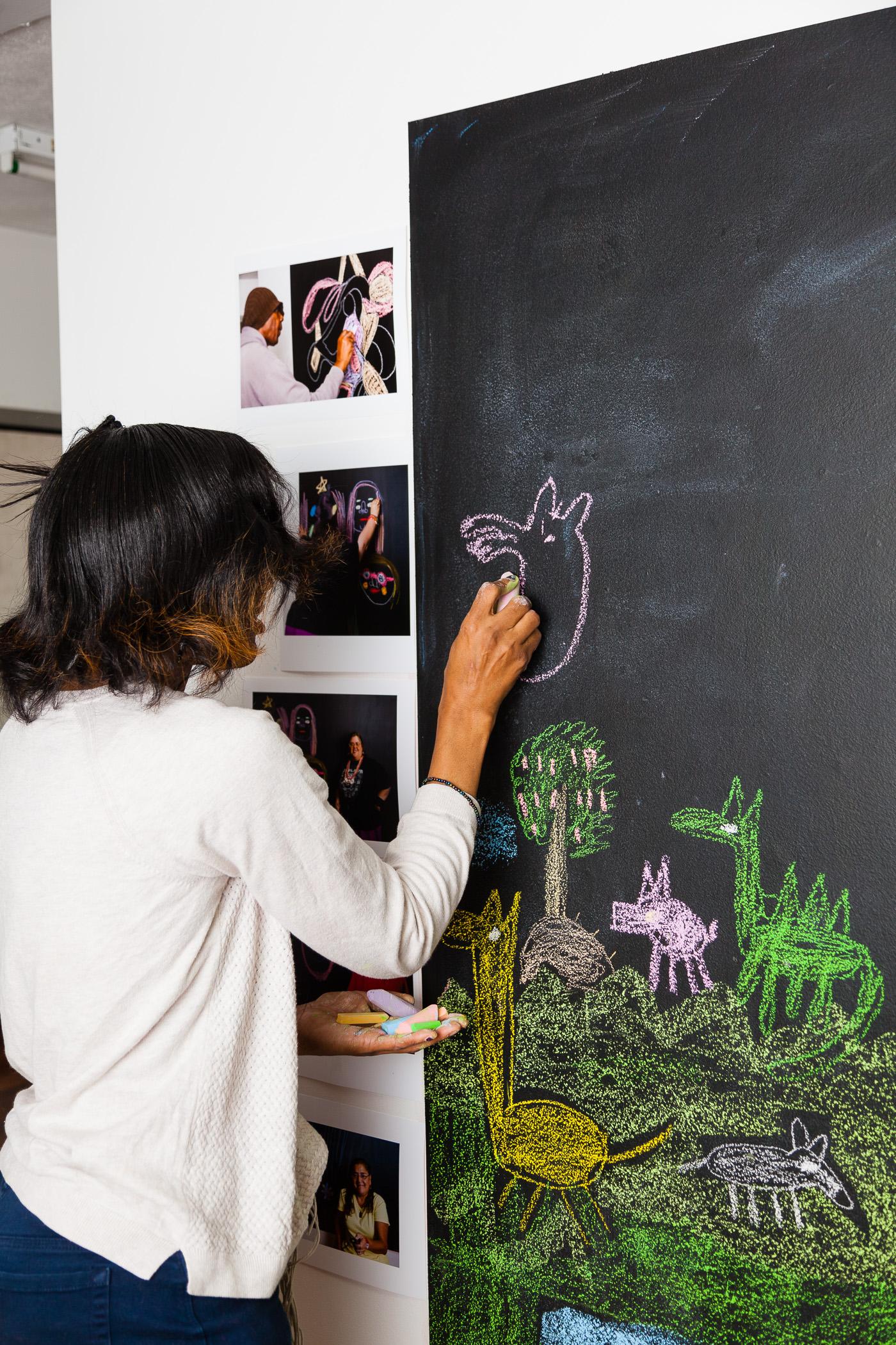 Jackie drawing