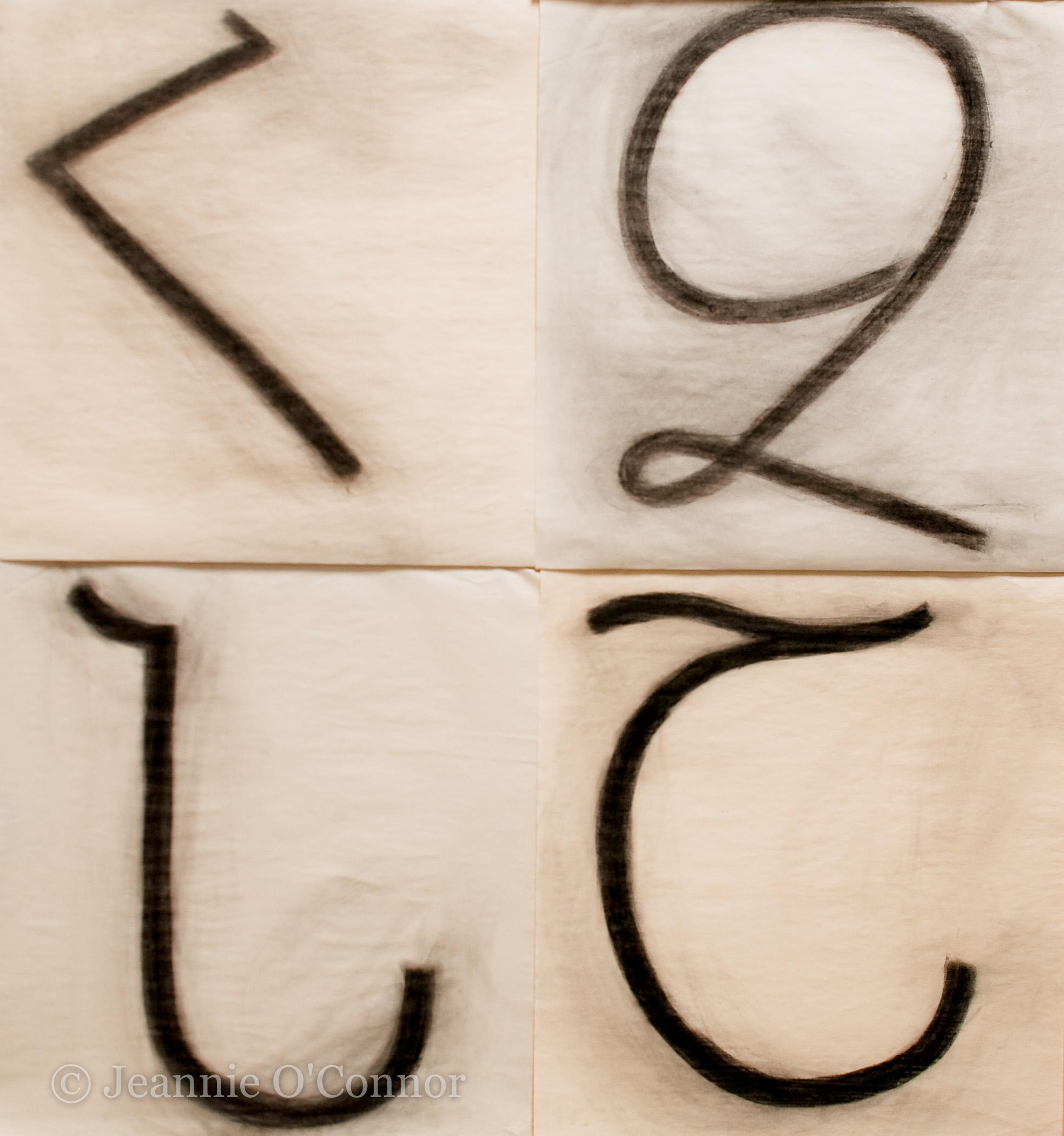 """ Detail, Armenian Alphabet"""