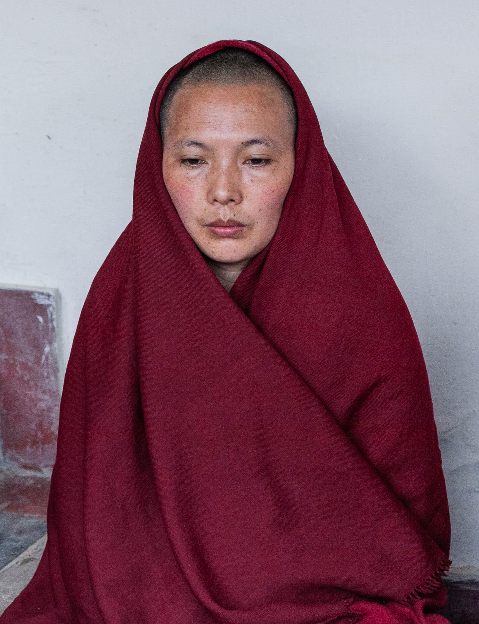 Nun in Meditation