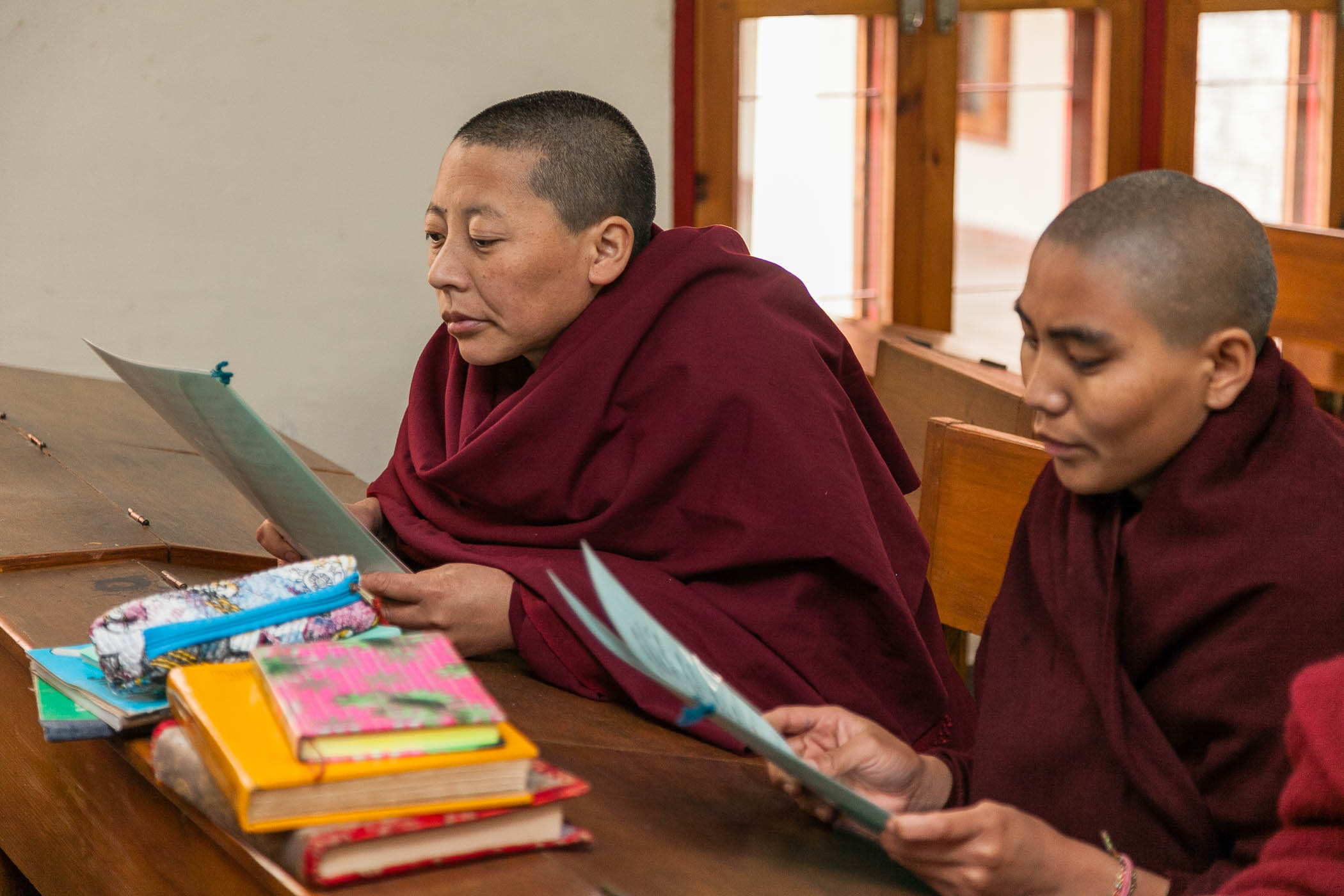 English Class, Dolma Ling Nunnery