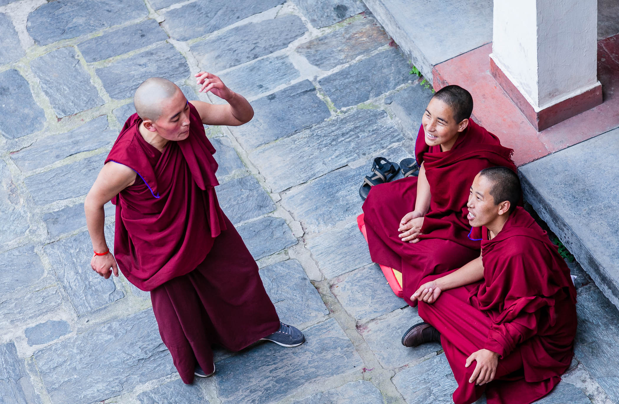 Debating the Dharma,  Dolma Ling Nunnery