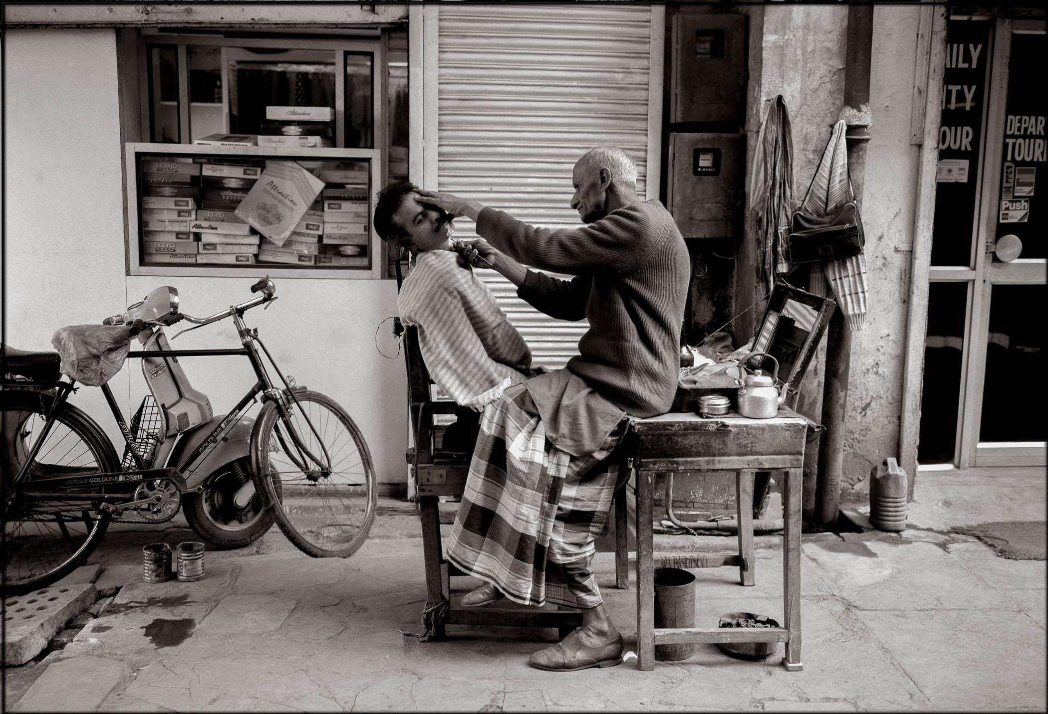 Barber, Delhi