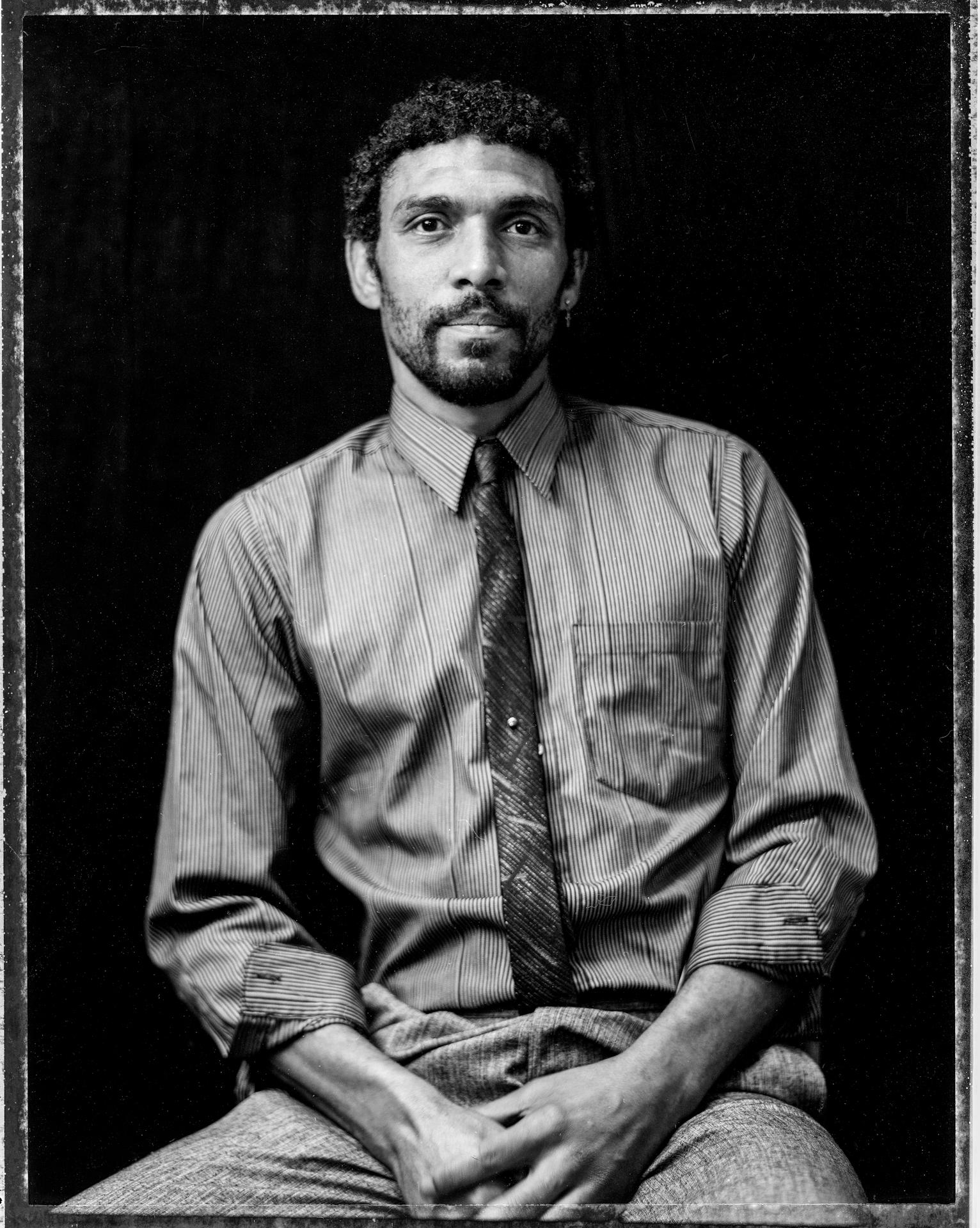 Man with a Tie, Shanti House, San Francisco