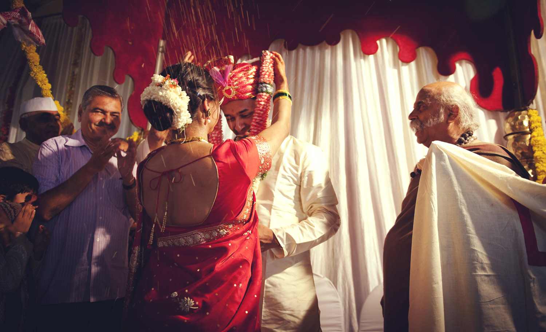 garland exchange indian wedding