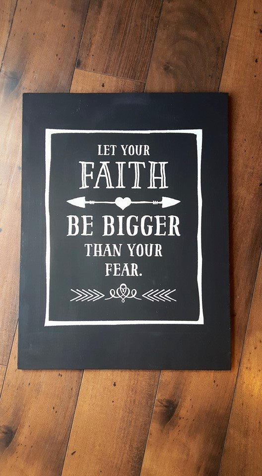Let faith be bigger