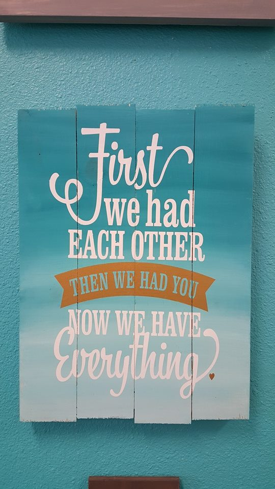 First We Had Eachother