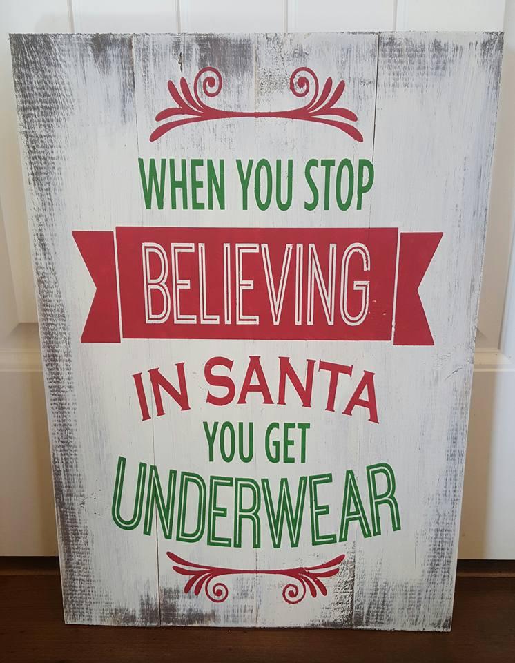 Santa- Underwear