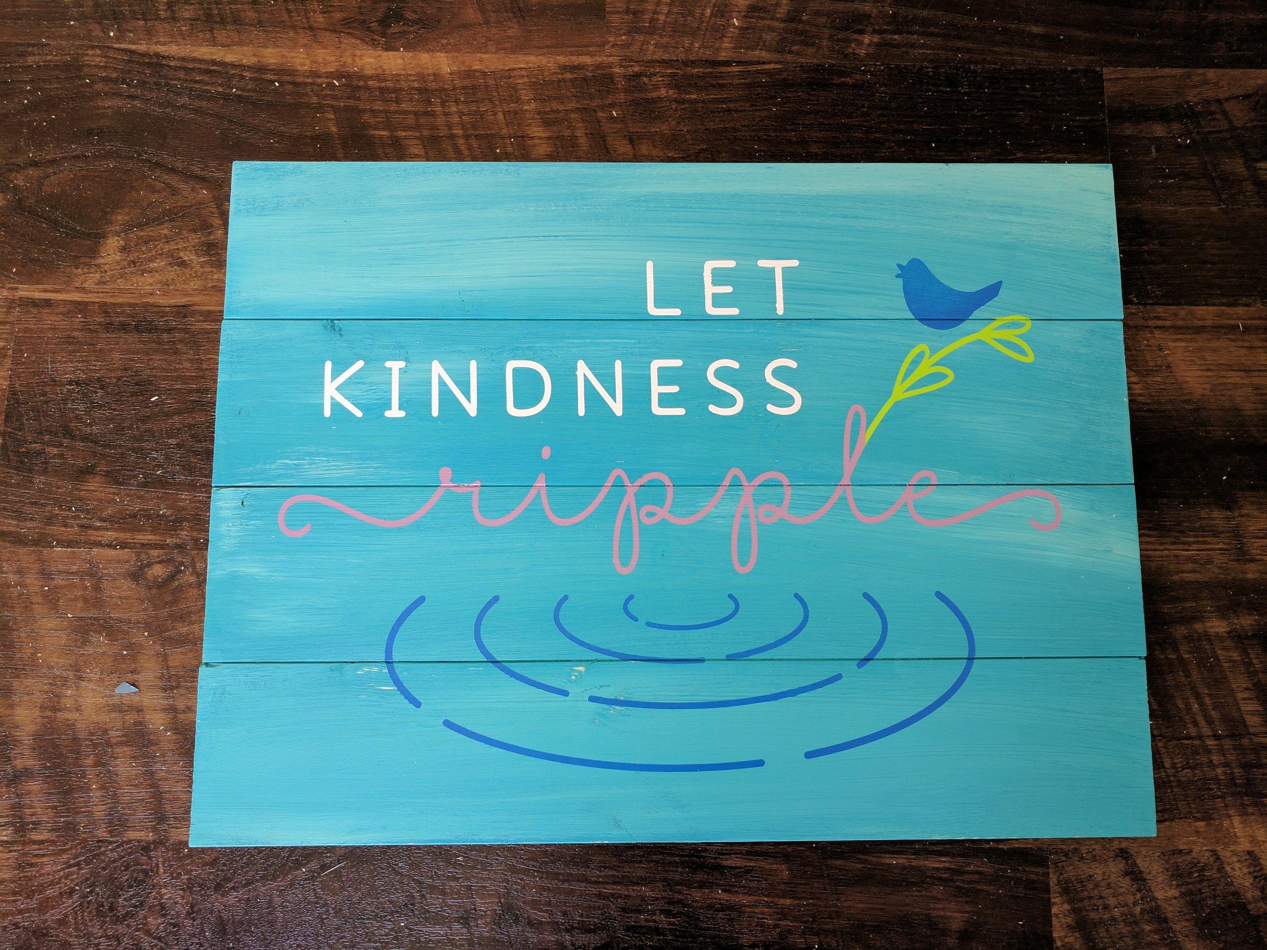 Let Kindness Ripple