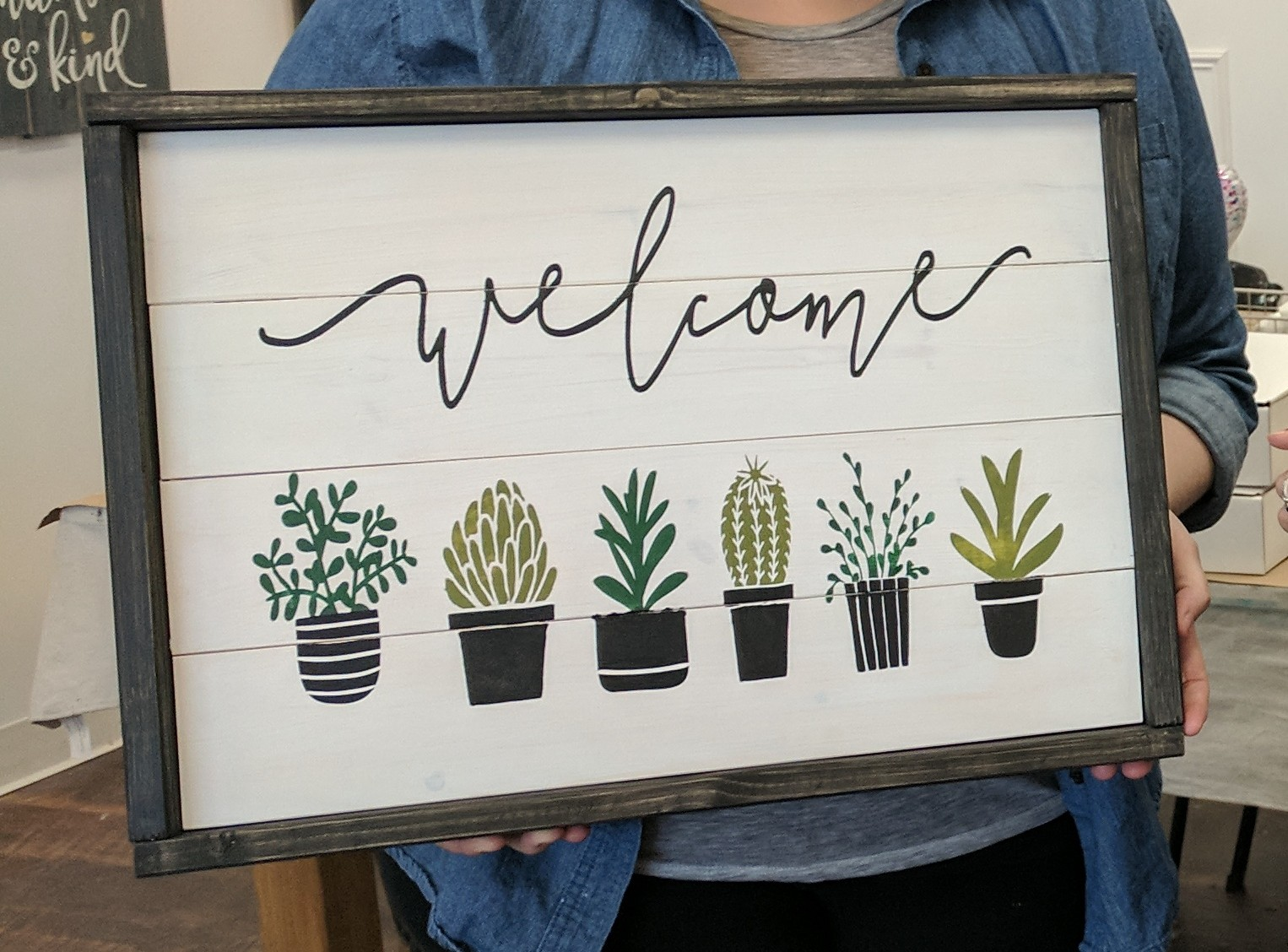 Welcome Cactus