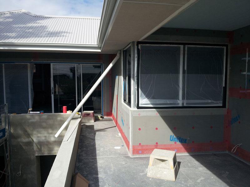Prep work – Unitex foam panel system