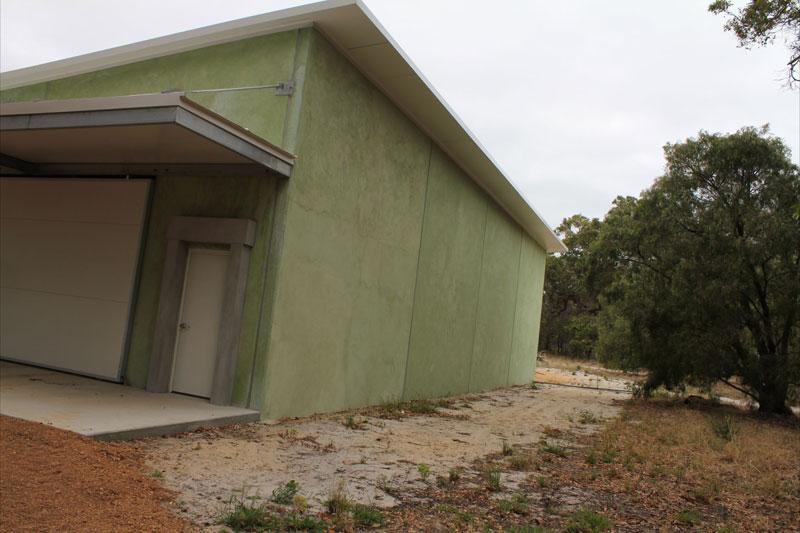 Wine storage shed