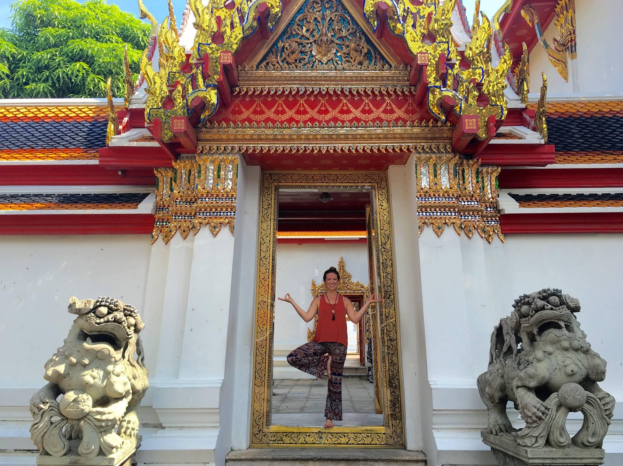 Exploring Bangkok before heading to the Chiang Mai province to teach yoga