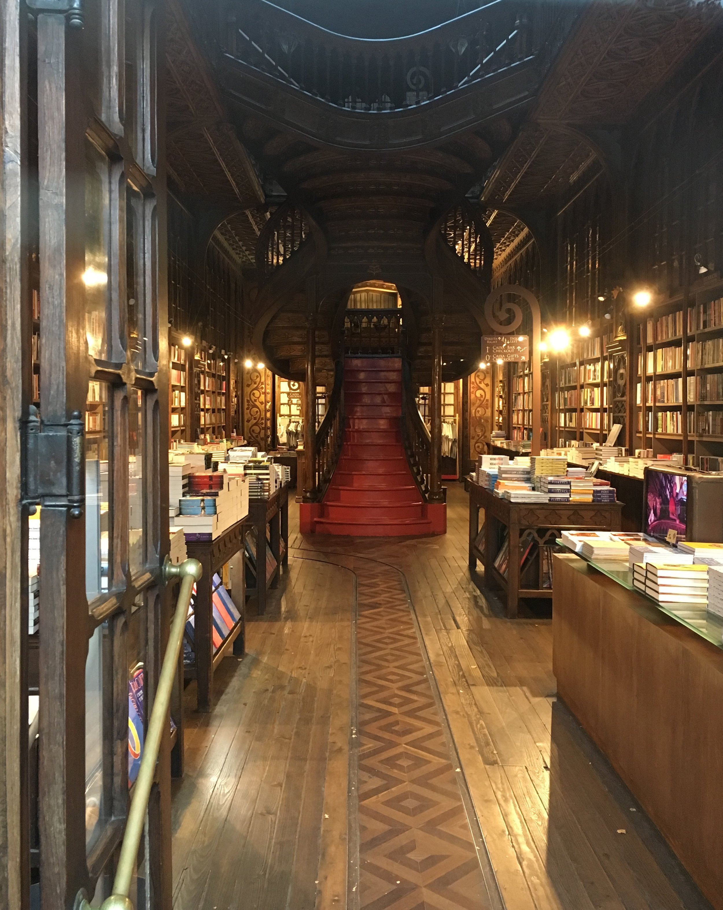 Rumor has it this old bookstore, Livraria Lello, inspired J.K. Rowling.