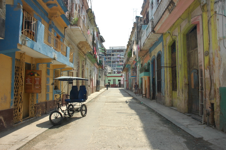 It's interesting to walk through Habana Centro. It's colorful like Habana Vieja but not as touristy.