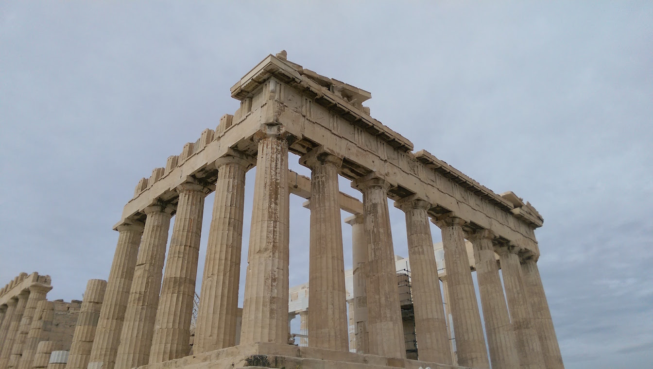 Despite wanting to go off the beaten path, I had to make it to the Parthenon!