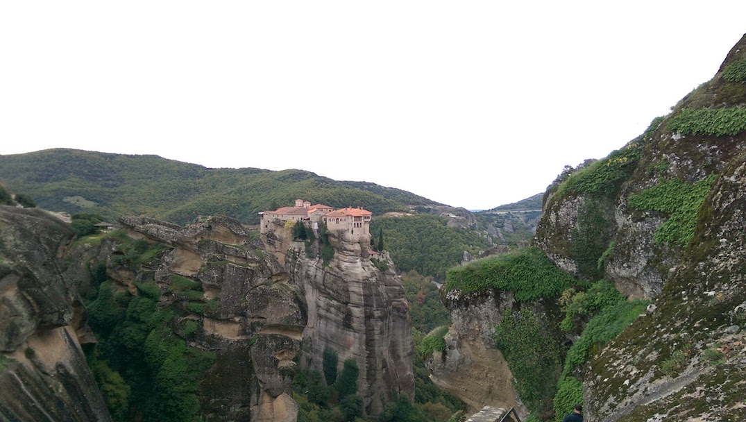 I have no words for how amazing Meteora is…that is a monastery, on the top of a rock.