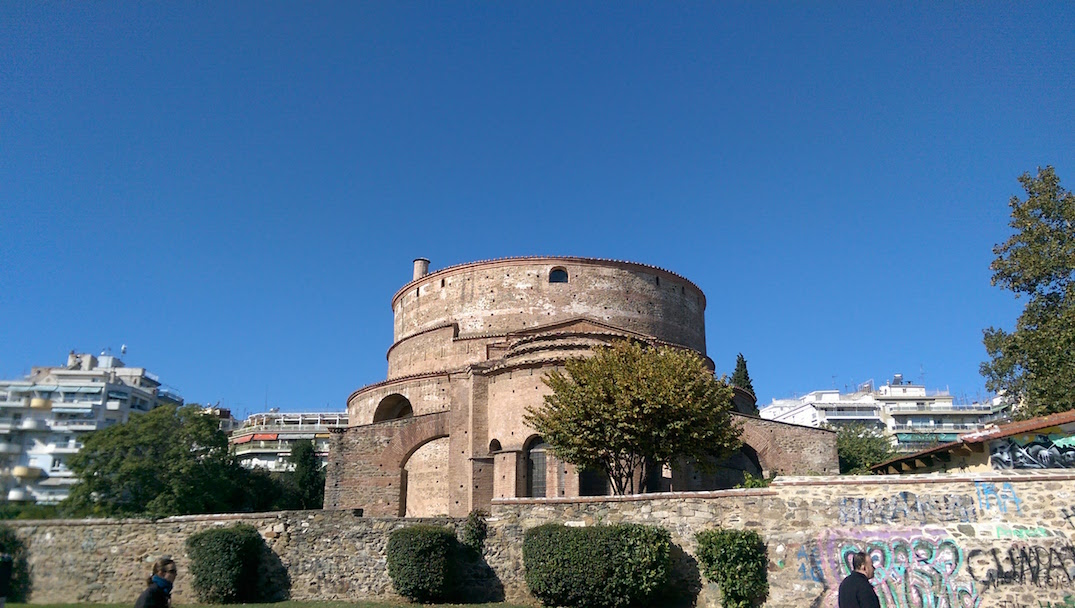 My favorite dome at Thessaloniki