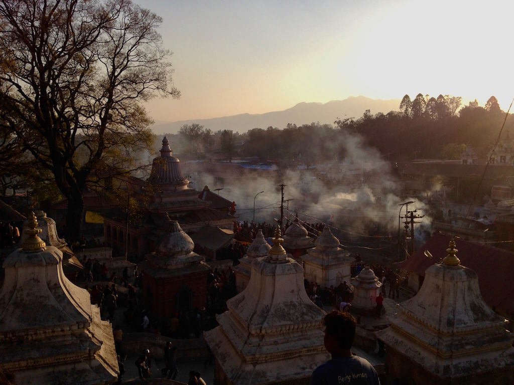 Pashupatinath temple during the Shivaratri Festival.