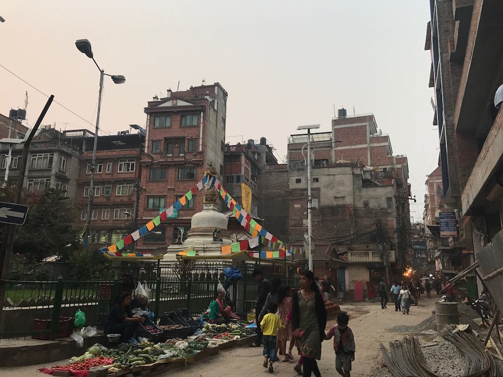Getting lost in Thamel.