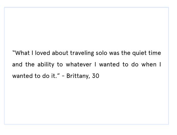solo travel quote
