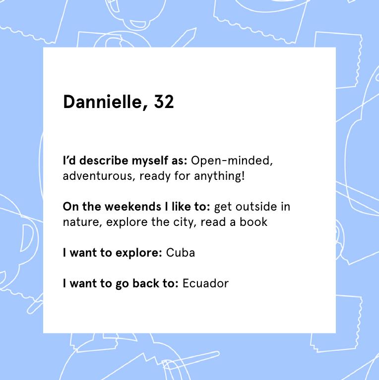 Dannielle profile info