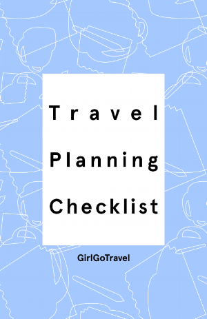 You know how to plan a trip but traveling alone as a female requires a few more to dos.  Use this simple checklist (with pro tips) to plan your trip stress free.