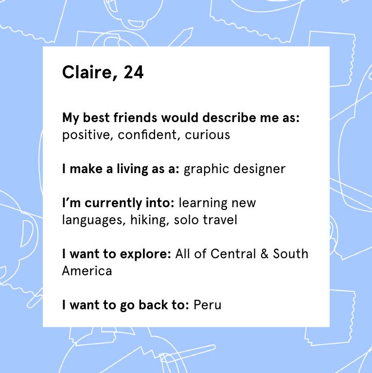 Claire Profile