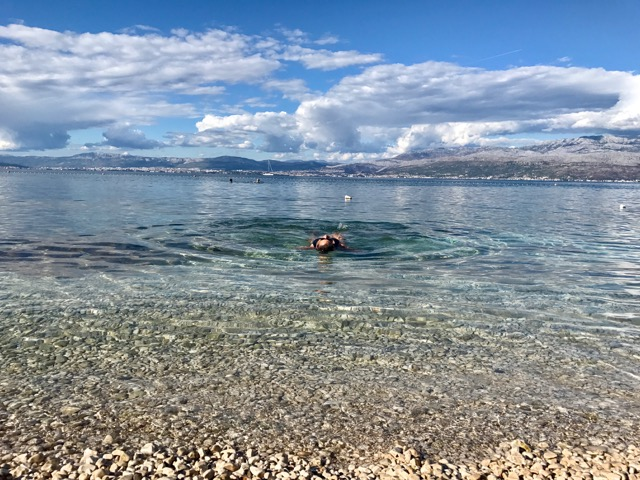 One of my favorite places was Croatia. I was nervous since I got there in October when I thought it would be cold and desolate. I was completely wrong as you can see.     Island of Brac, Croatia