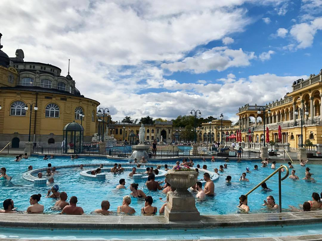 A thermal bath in Budapest!