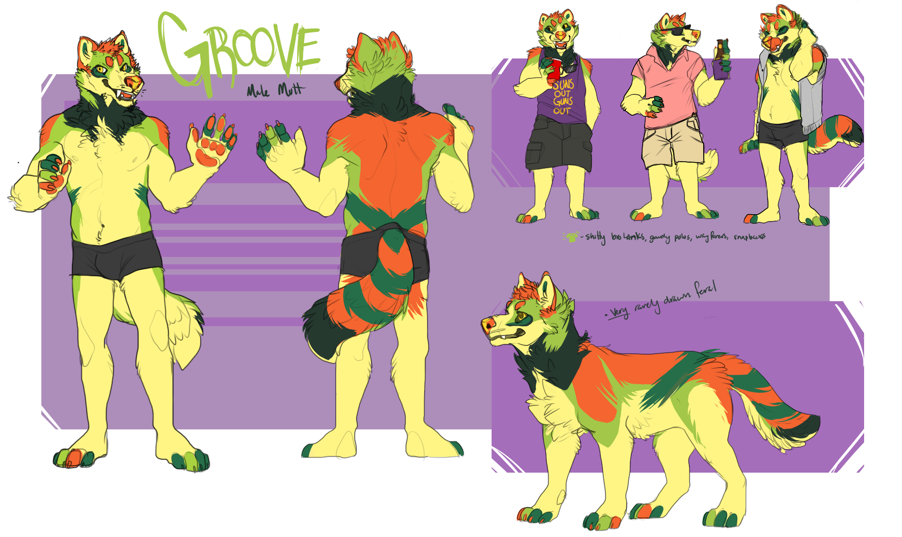 May 2015 - PainttoolSai  Character Sheet for a personal character