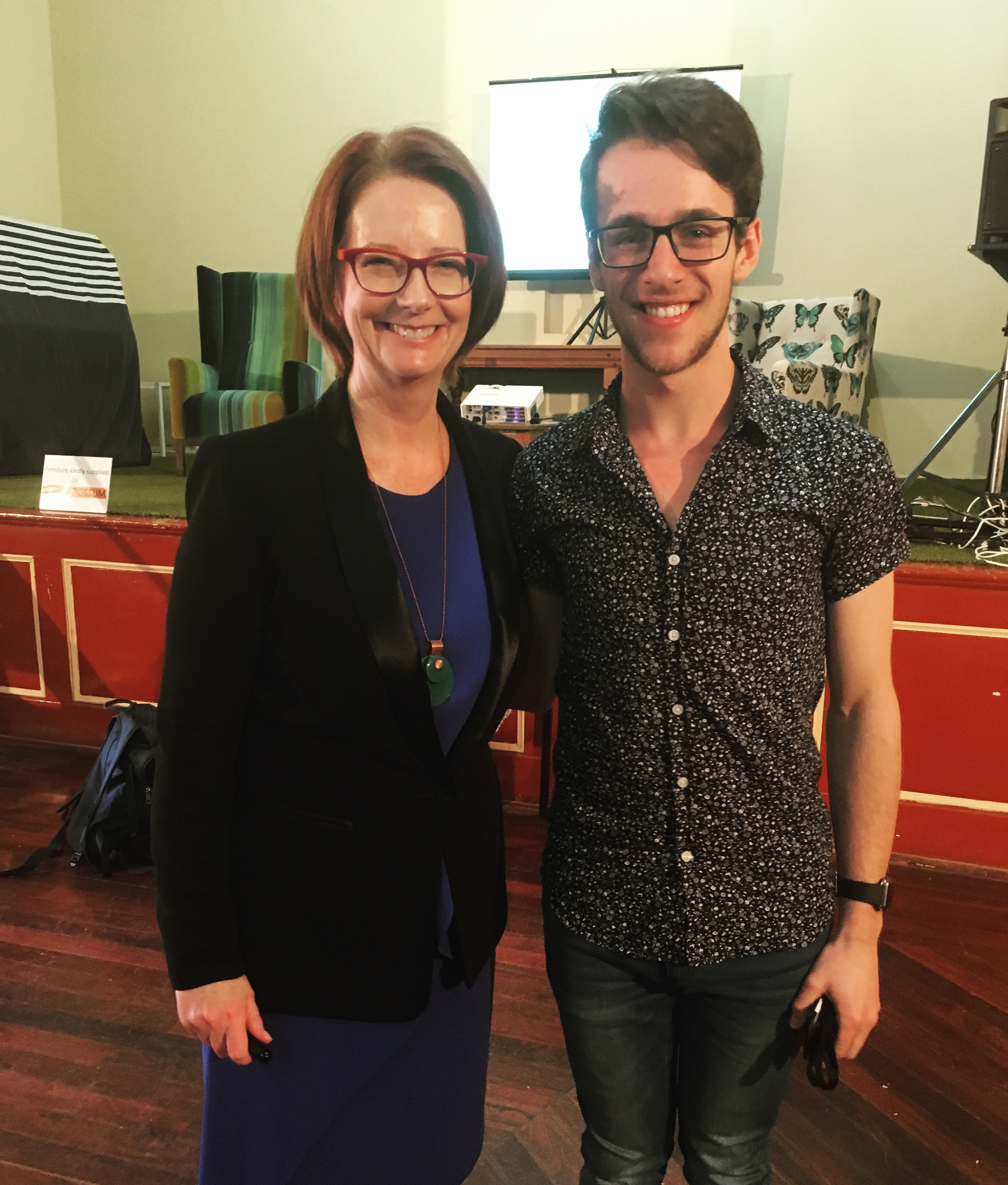 Working with Former Prime Minister Julia Gillard 2015