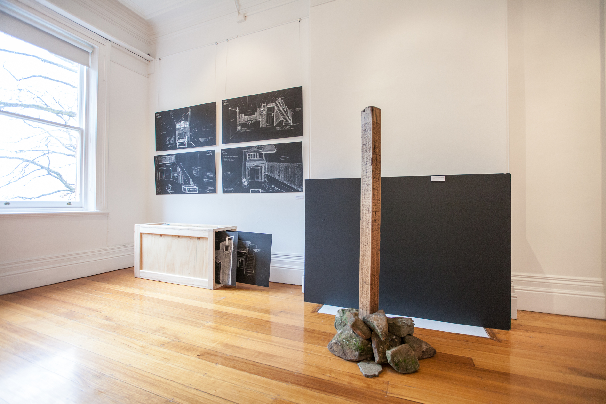Sampler: installation view