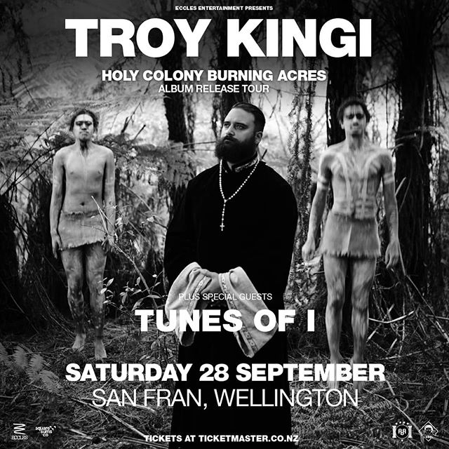 Excited to be joining Uncle @troykingi at @sanfranvenue for his release show next Saturday! Not many tickets left. Get 'em at @ticketmasternz 🎫