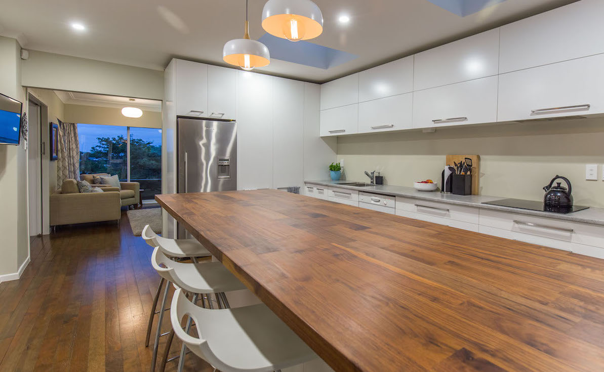 Martin's stunning timber benchtop - see more over on our blog