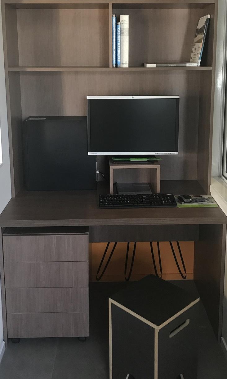 Cut to size desks