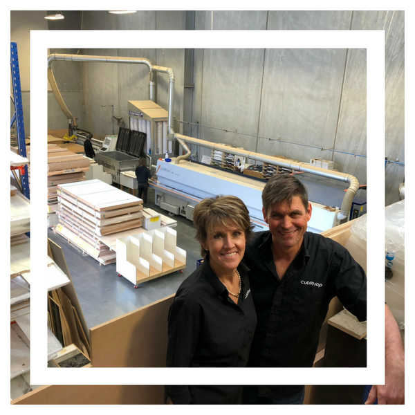Dave and Debbie Sutherland, franchise owners of Cutshop® North Shore.