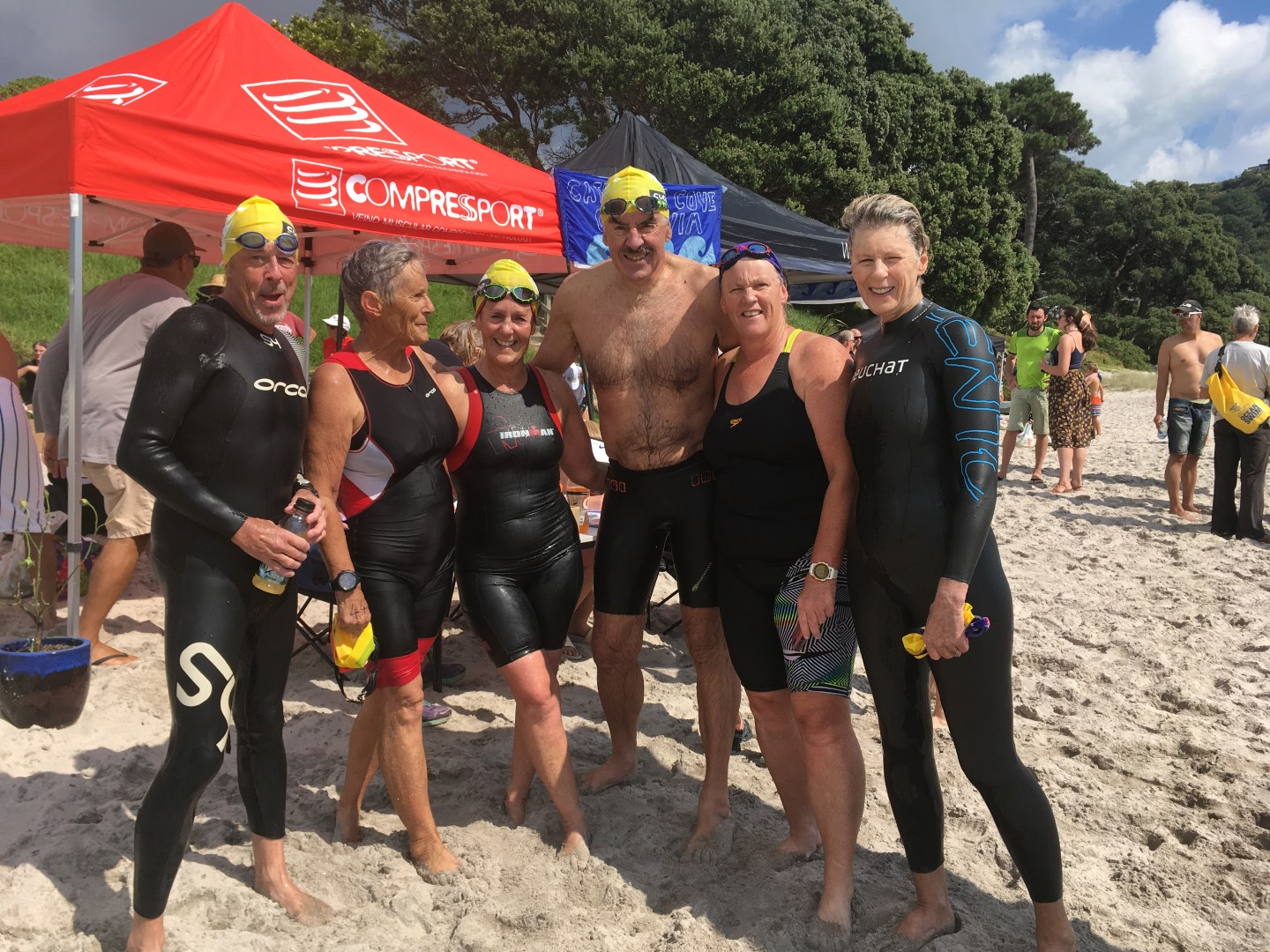 Cathedral Cove swim - Brent 02.JPG