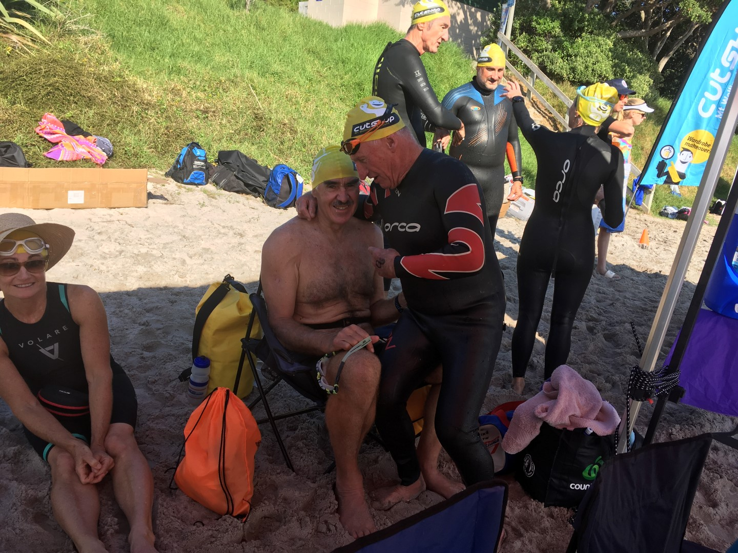 Cathedral Cove swim - Brent 04.JPG