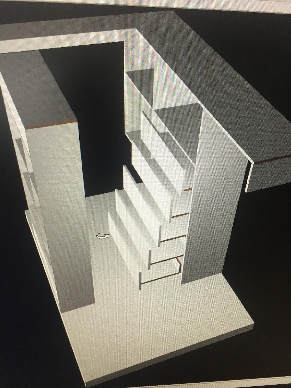 3d model of wardrobe cabinet