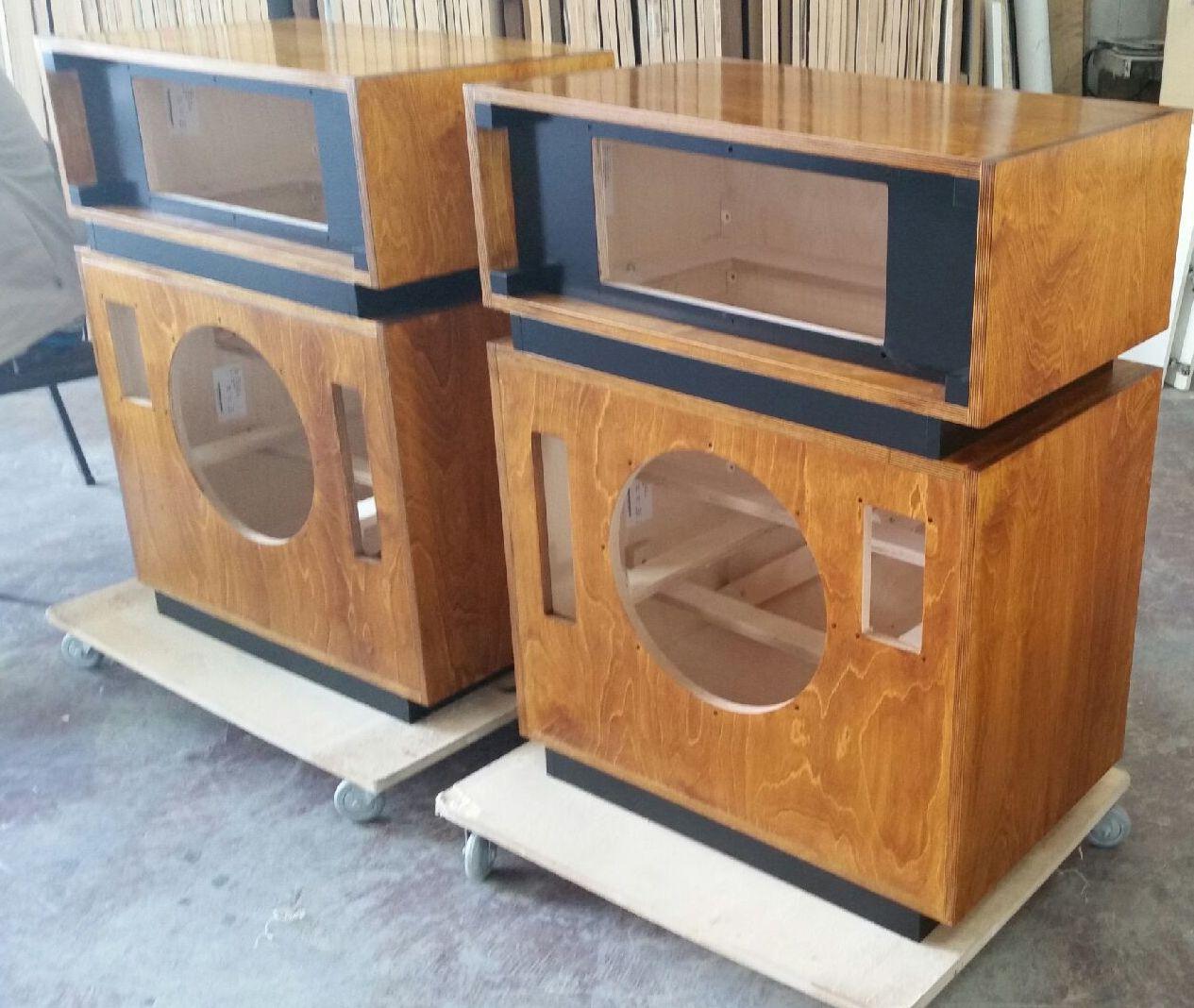 Bespoke speakers - middle