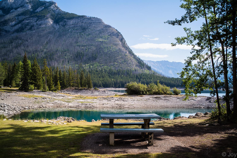 Lake Minnewanka - the largest lake at Banff